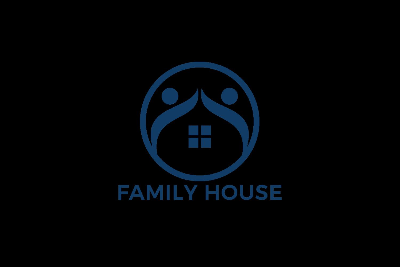 Family House Vector Logo Design. example image 2