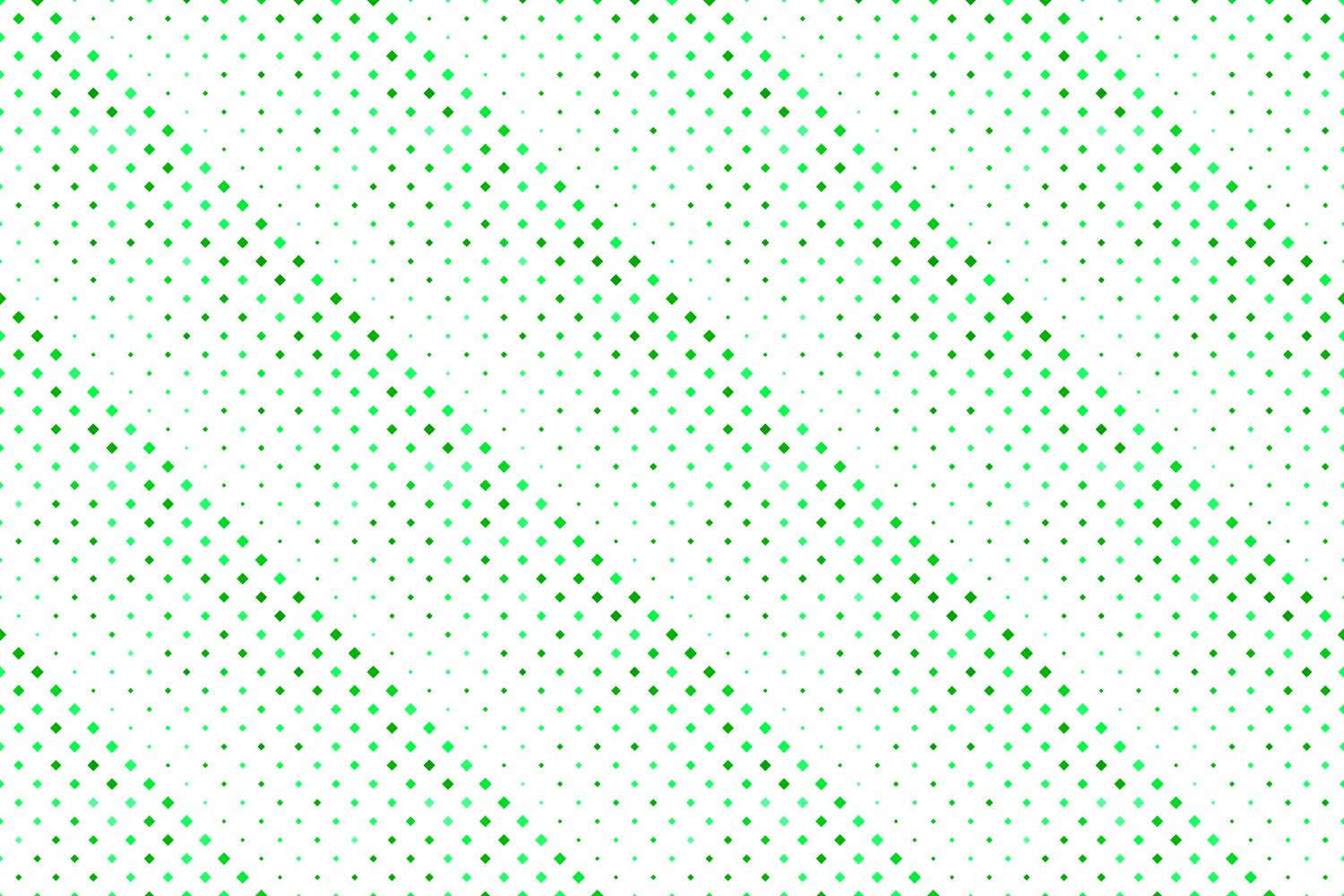 24 Seamless Green Square Patterns example image 9