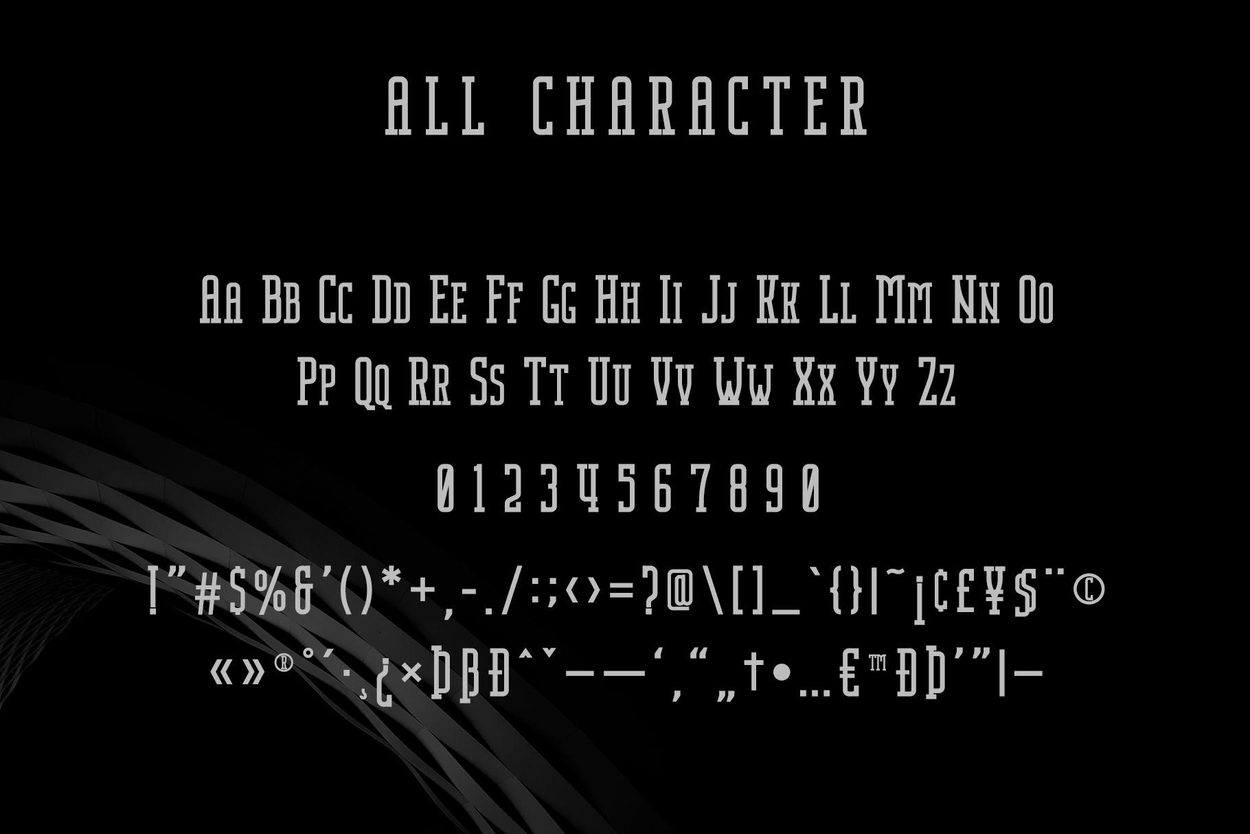 Nordin Slab - Condensed Slab Serif example image 11