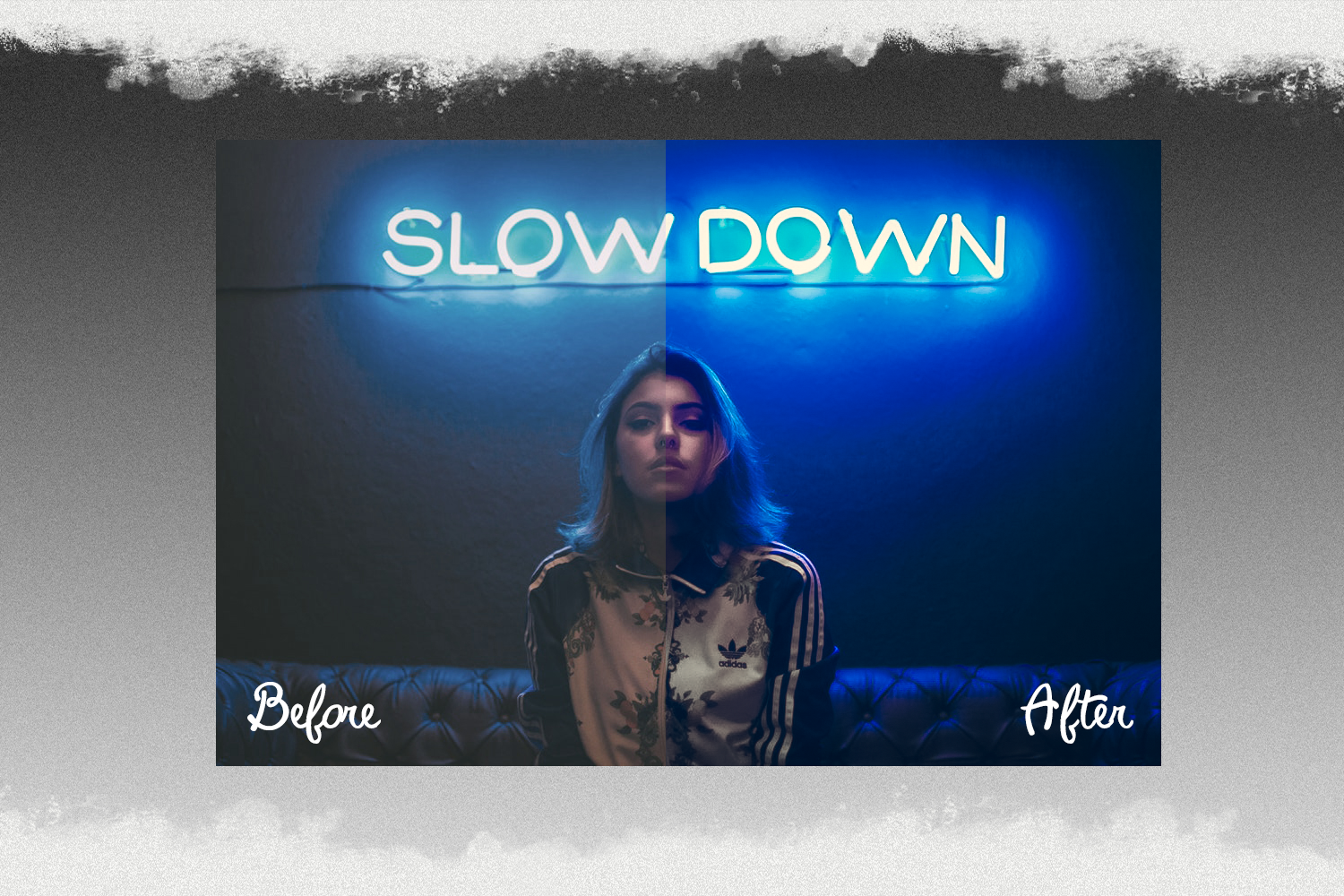 Neon preset lightroom mobile pc instagram effects filter example image 3