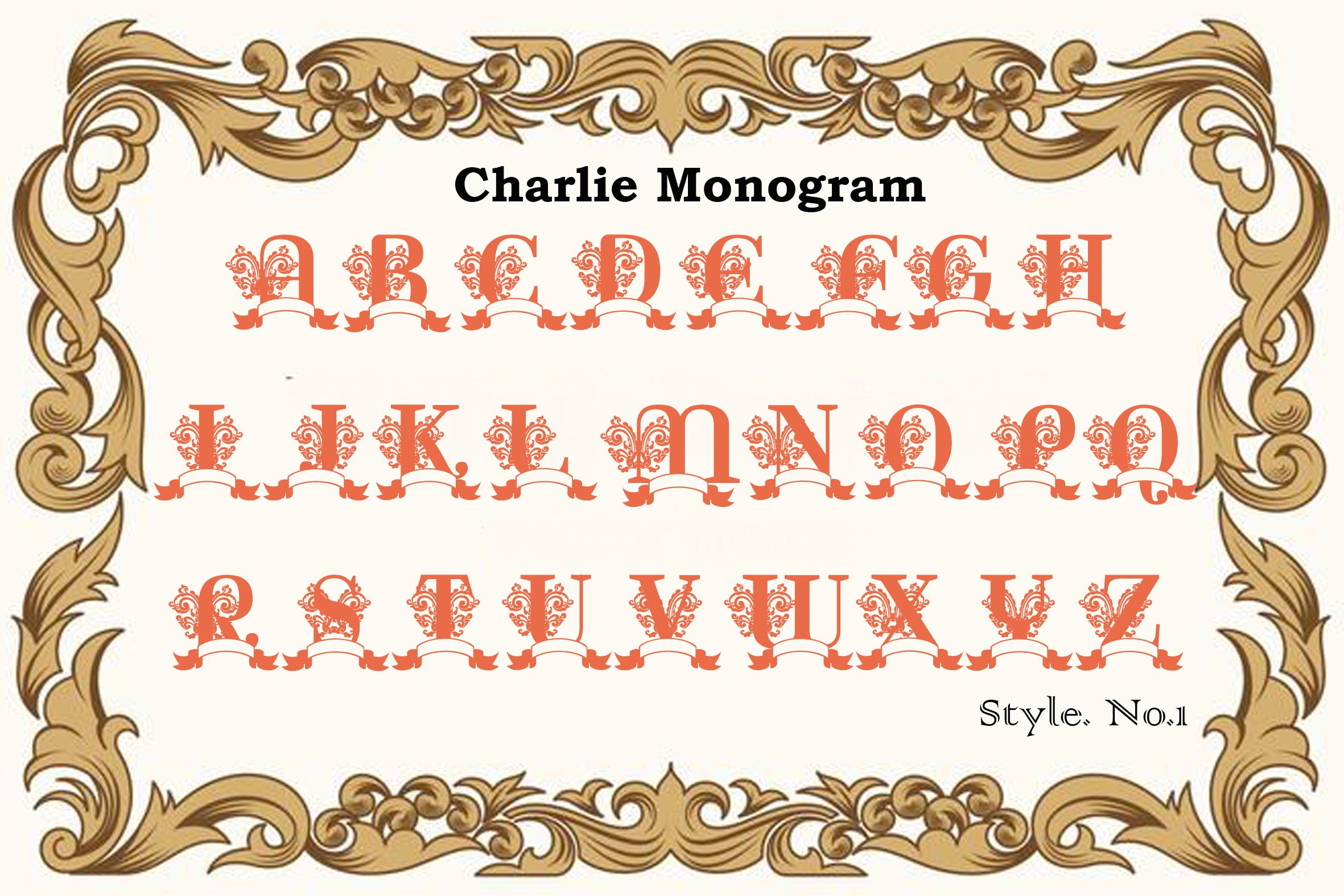 Charlie Monogram example image 8