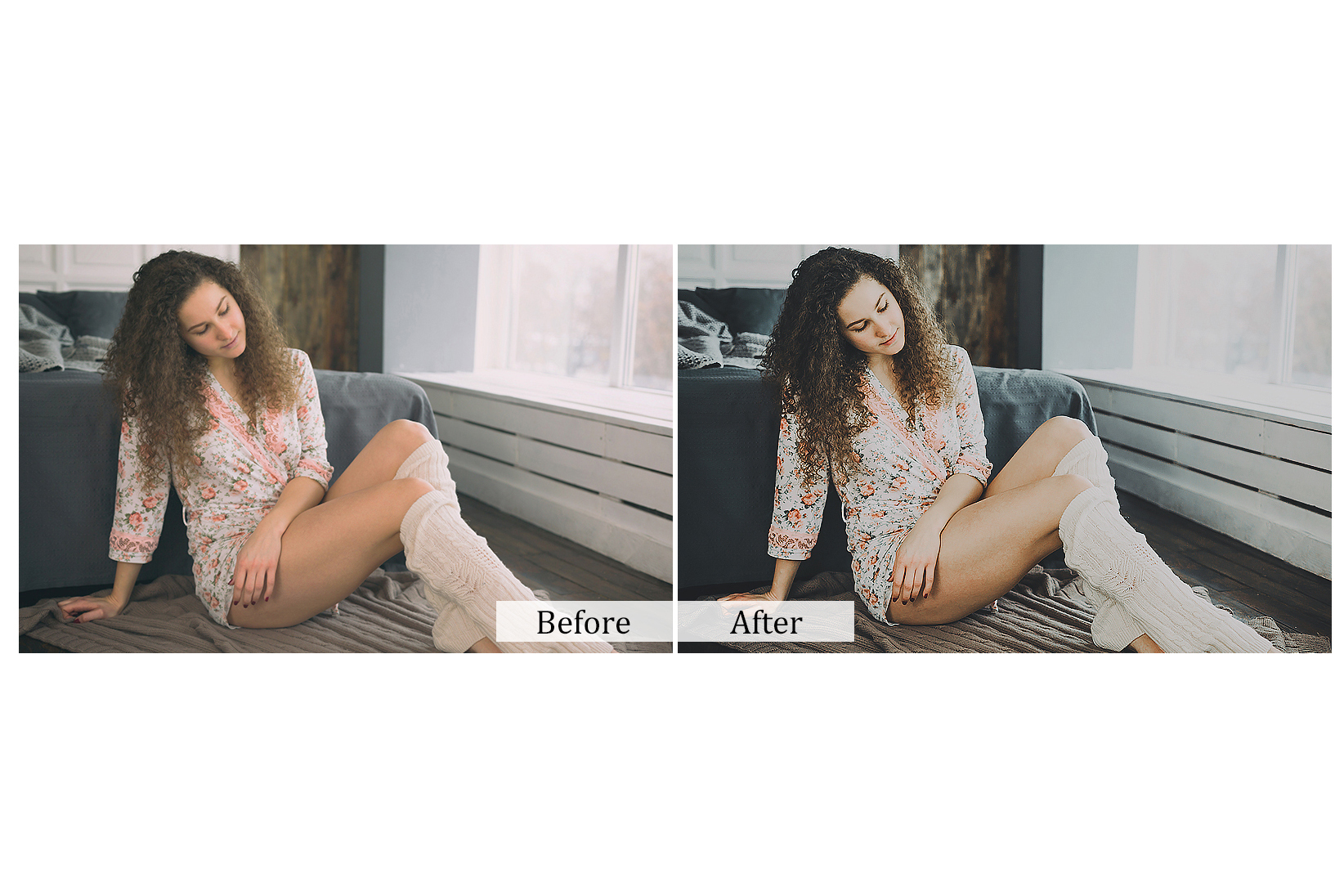 100 Indoor Fashion Photoshop Actions example image 3