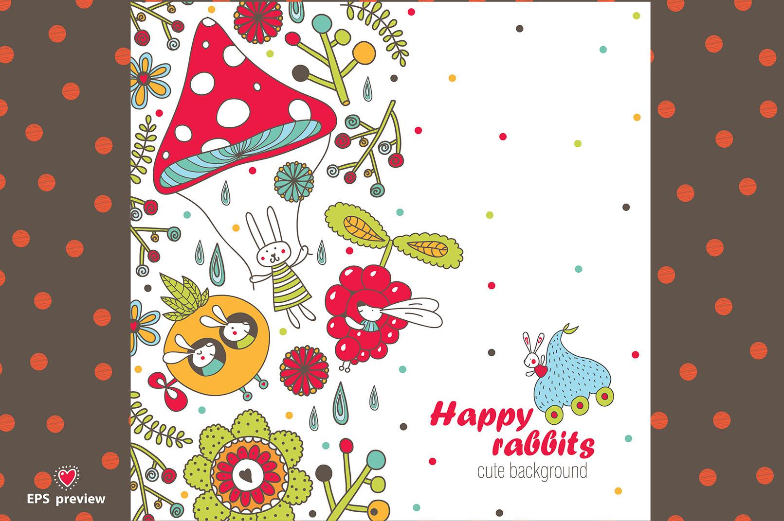 Happy rabbits! example image 7