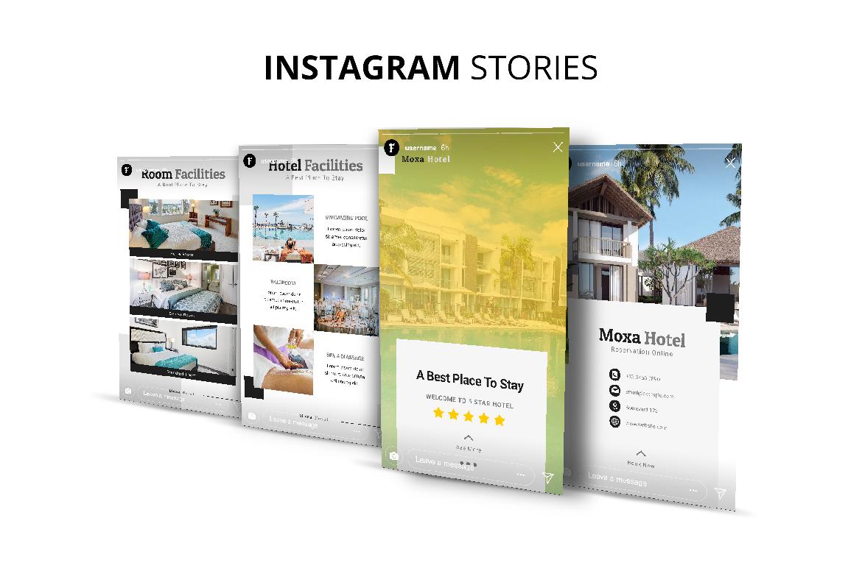 Moxa Hotel Social Media Kit example image 8