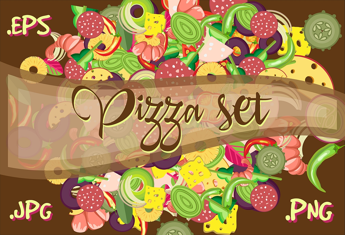 Pizza set example image 1