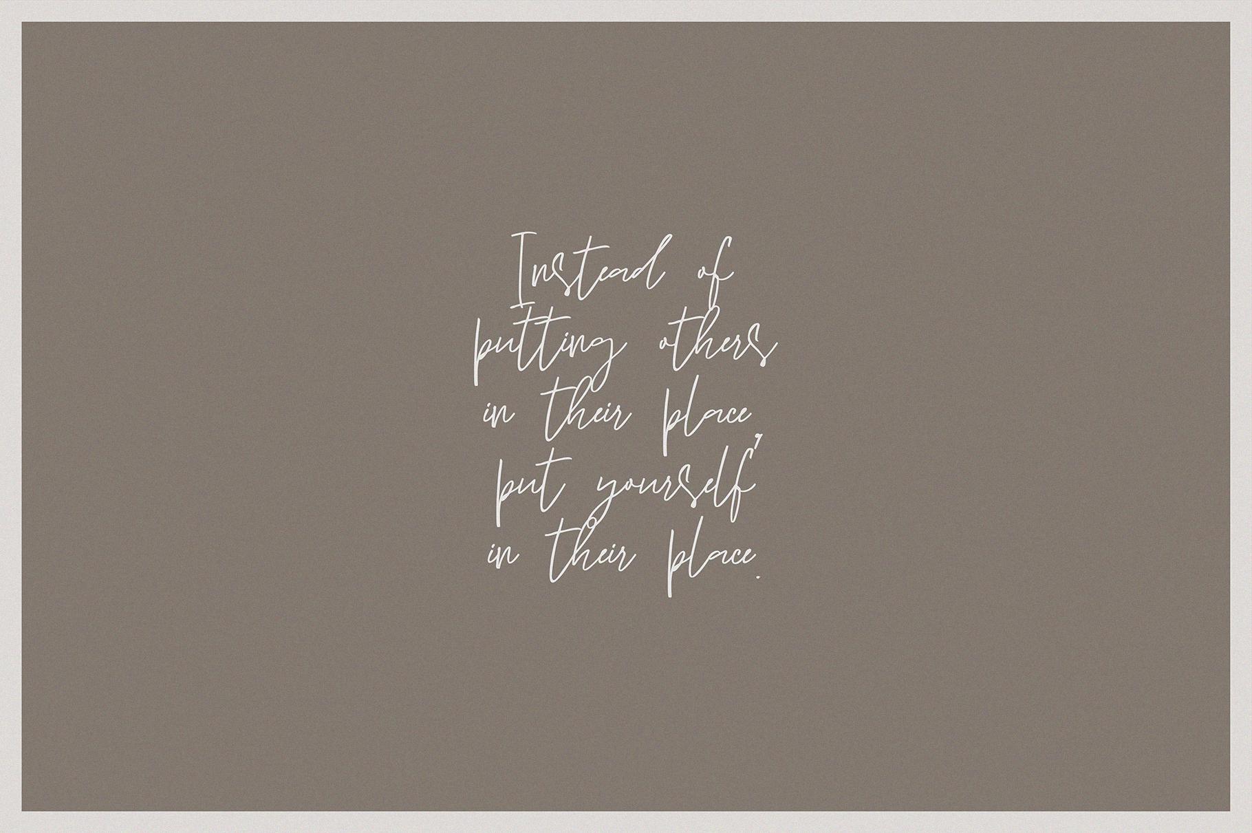 Sun Catcher   Multilingual Handwritten Script Font example image 8