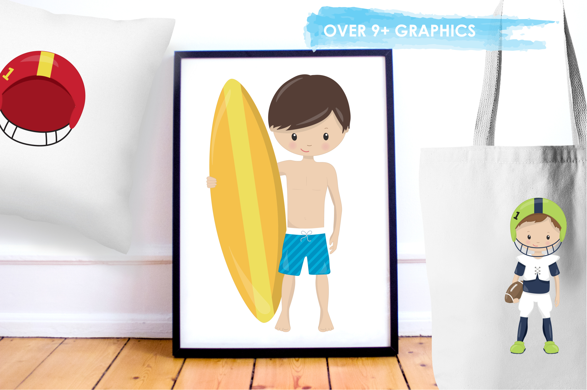 Sport Boys graphics and illustrations example image 5