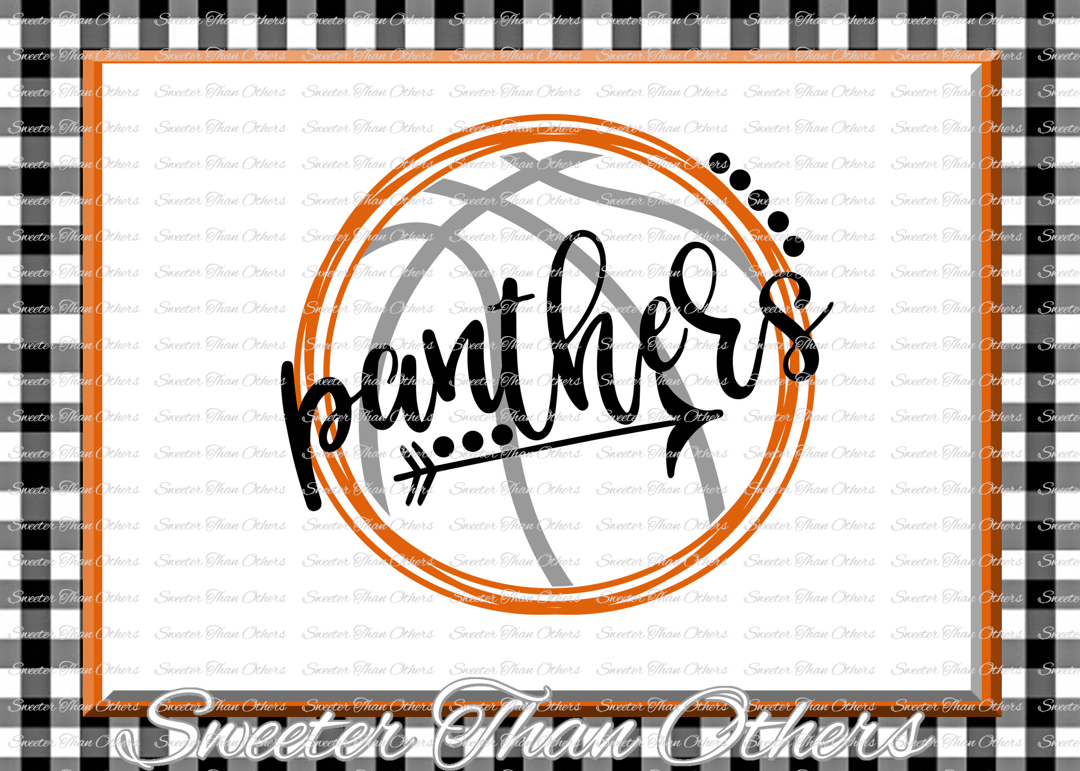 Basketball SVG, Panthers svg, Panthers Basketball svg example image 1