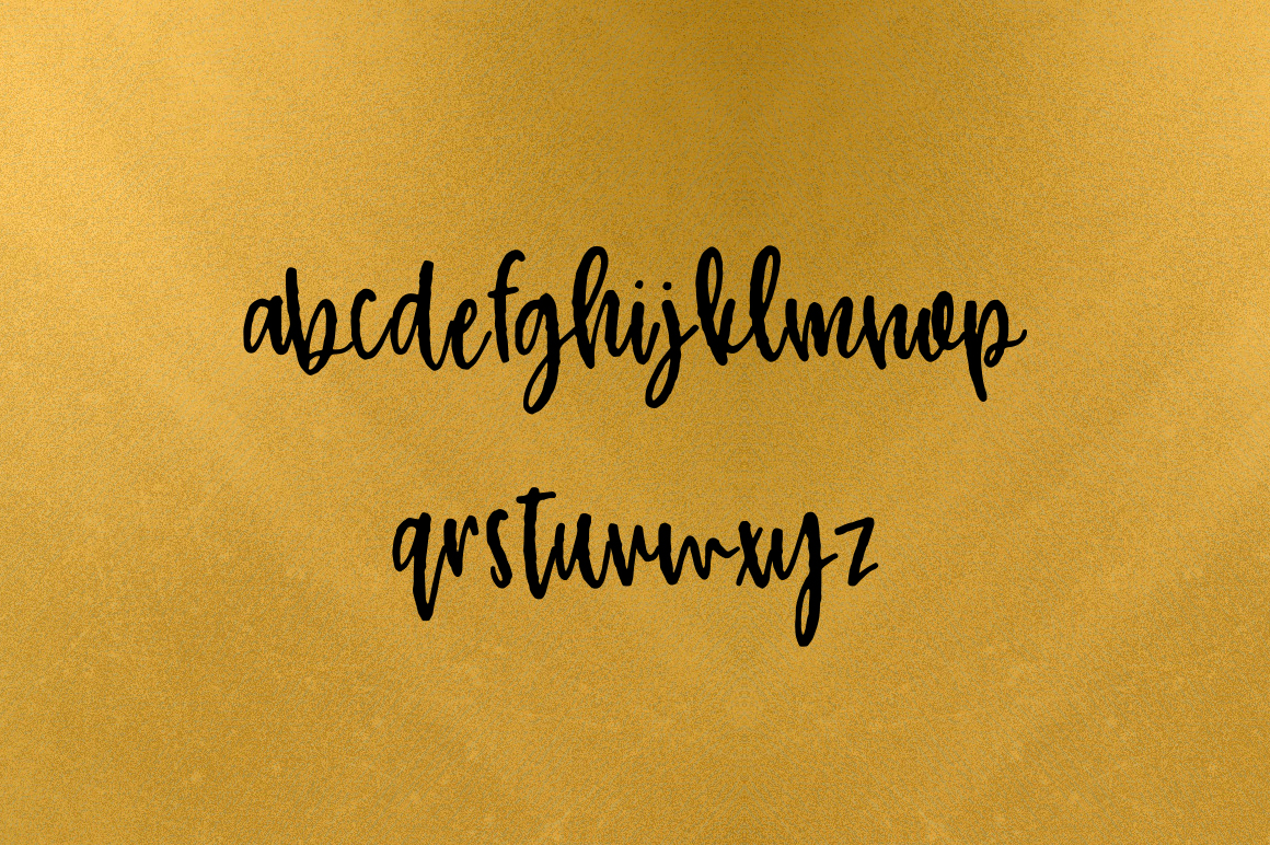 Nickely - A Textured Script example image 6