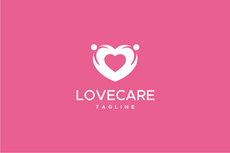 Love Care Logo example image 2