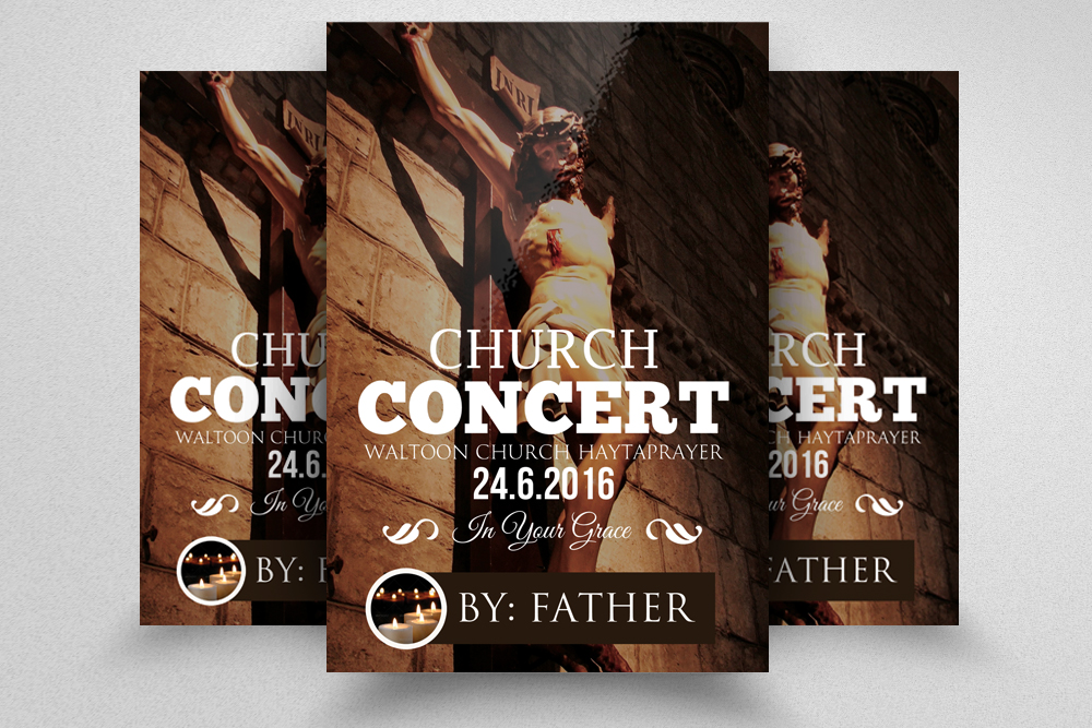 Church Flyer Template example image 1