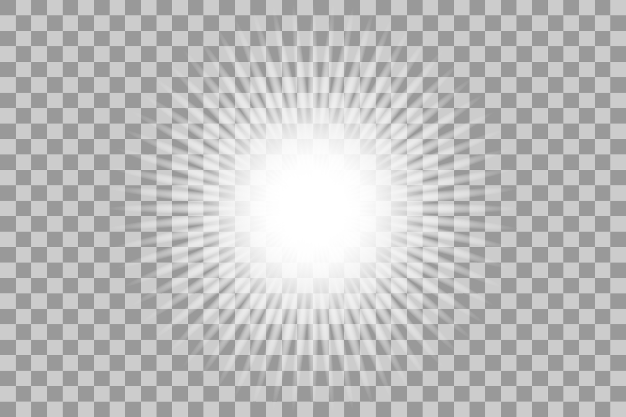 Vector white light effects. Flash. example image 4
