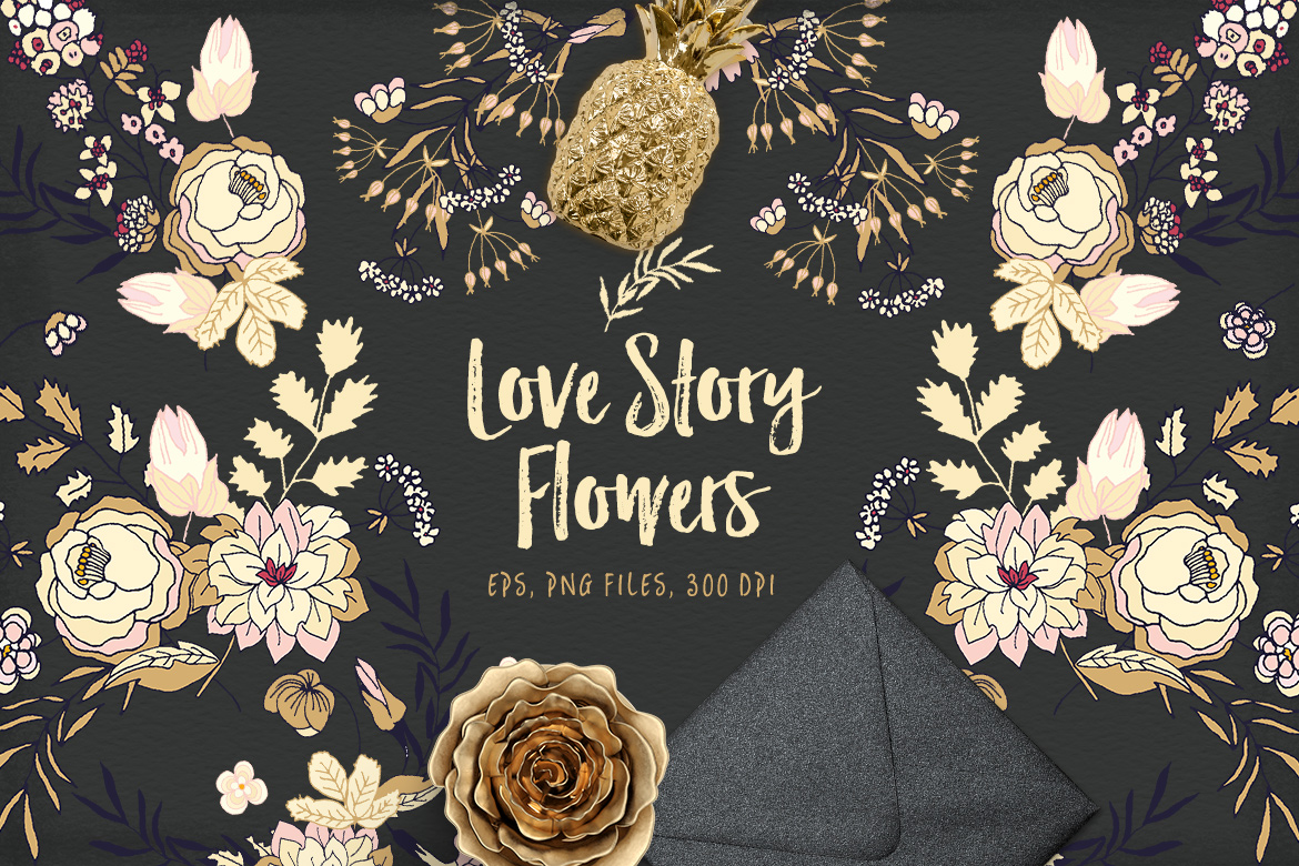 Love Story Flowers example image 1