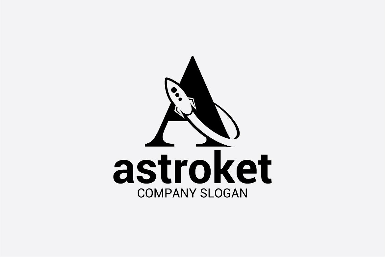 A Rocket Logo example image 2