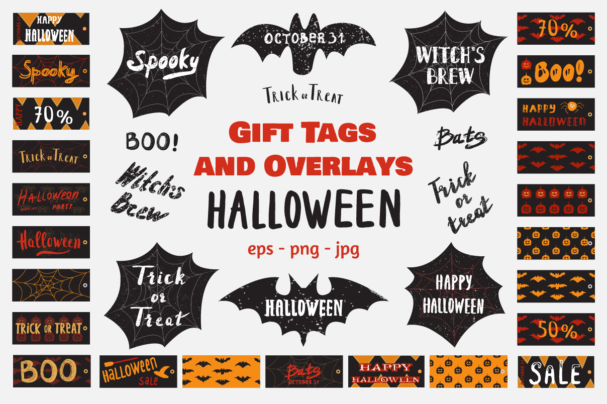 50 OFF Halloween Vintage Collection example image 1