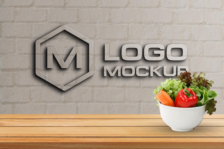3D Logo Mock-up Bundle example image 3