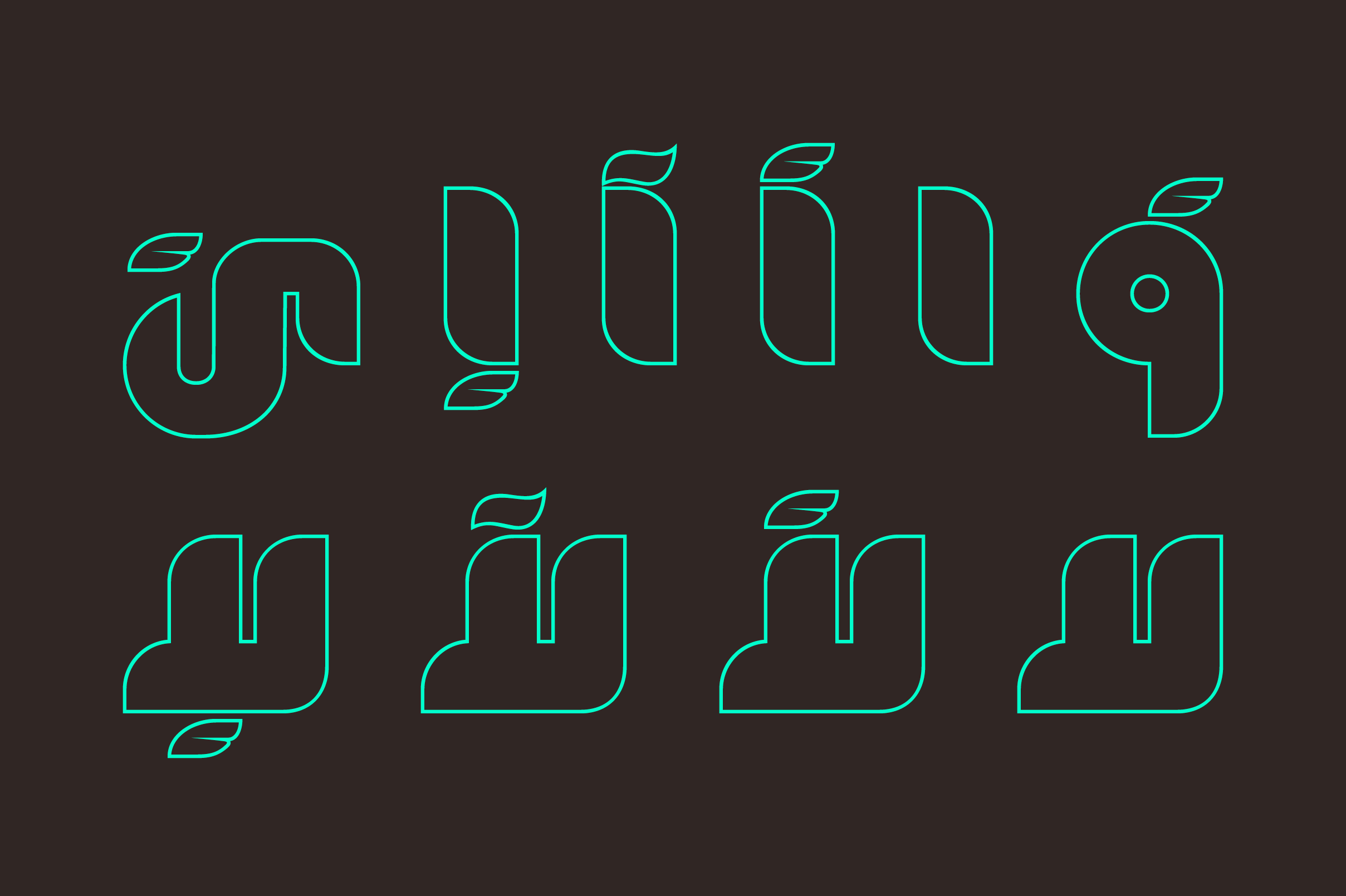 Fekrah - Arabic Font example image 6