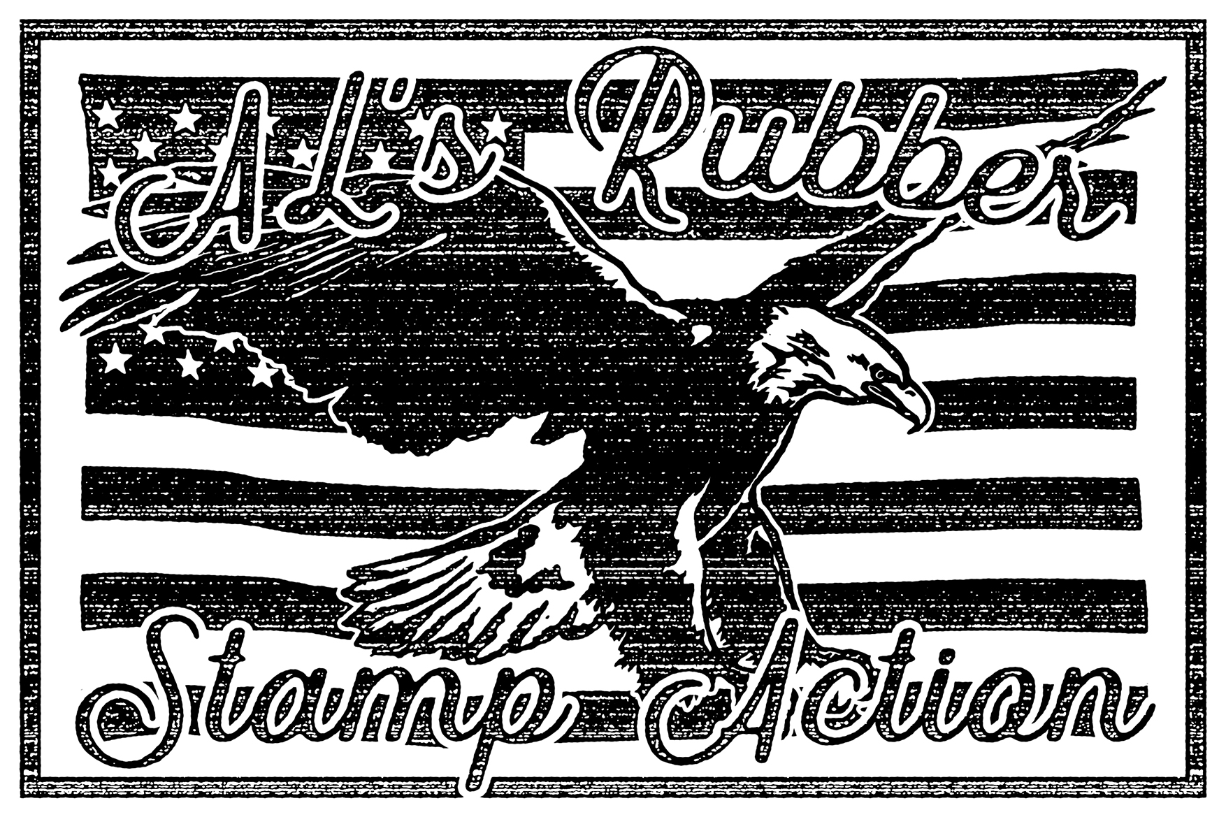 AL's Rubber Stamp Action Kit example image 21