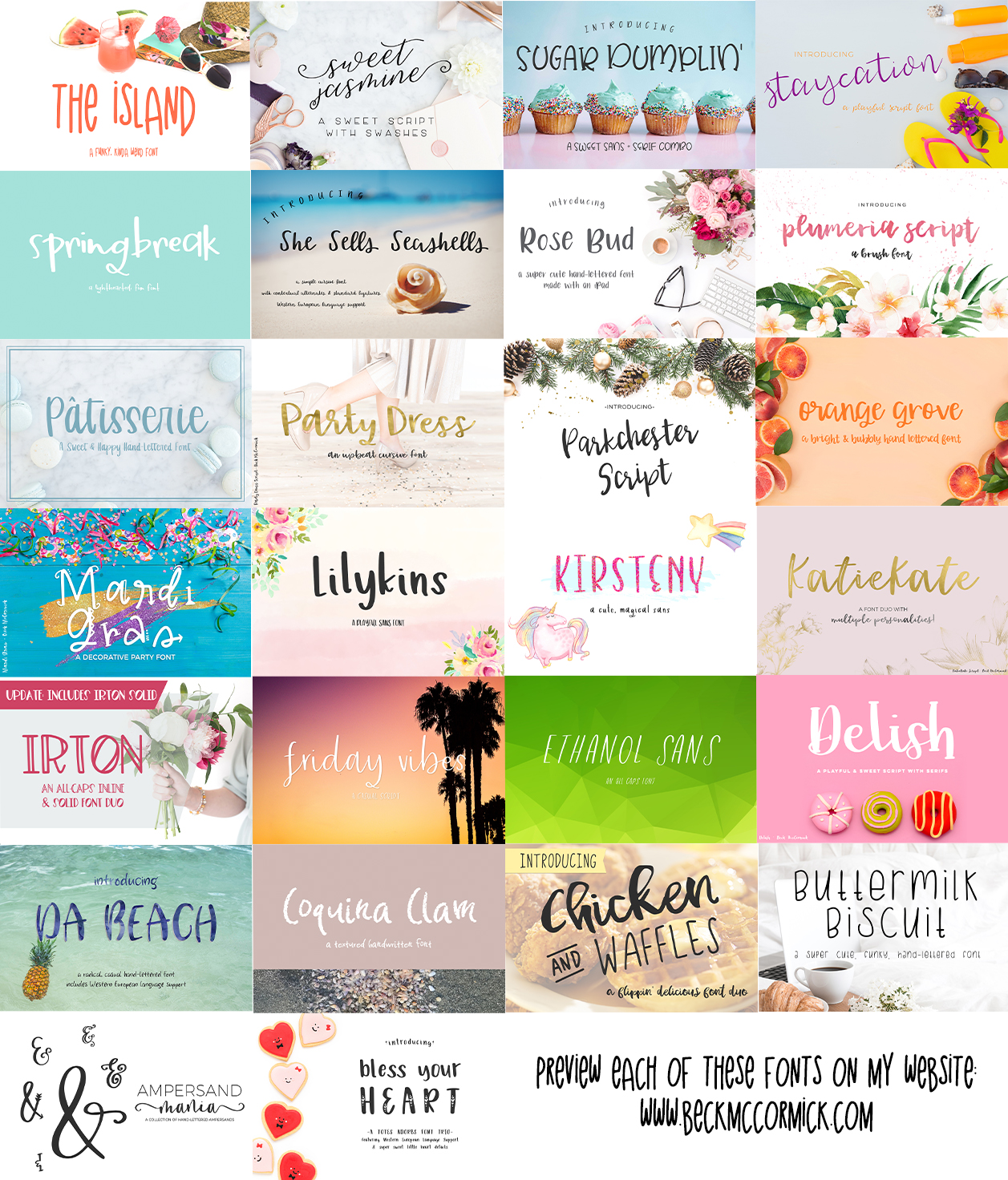The Crafter's Font Bundle example image 2