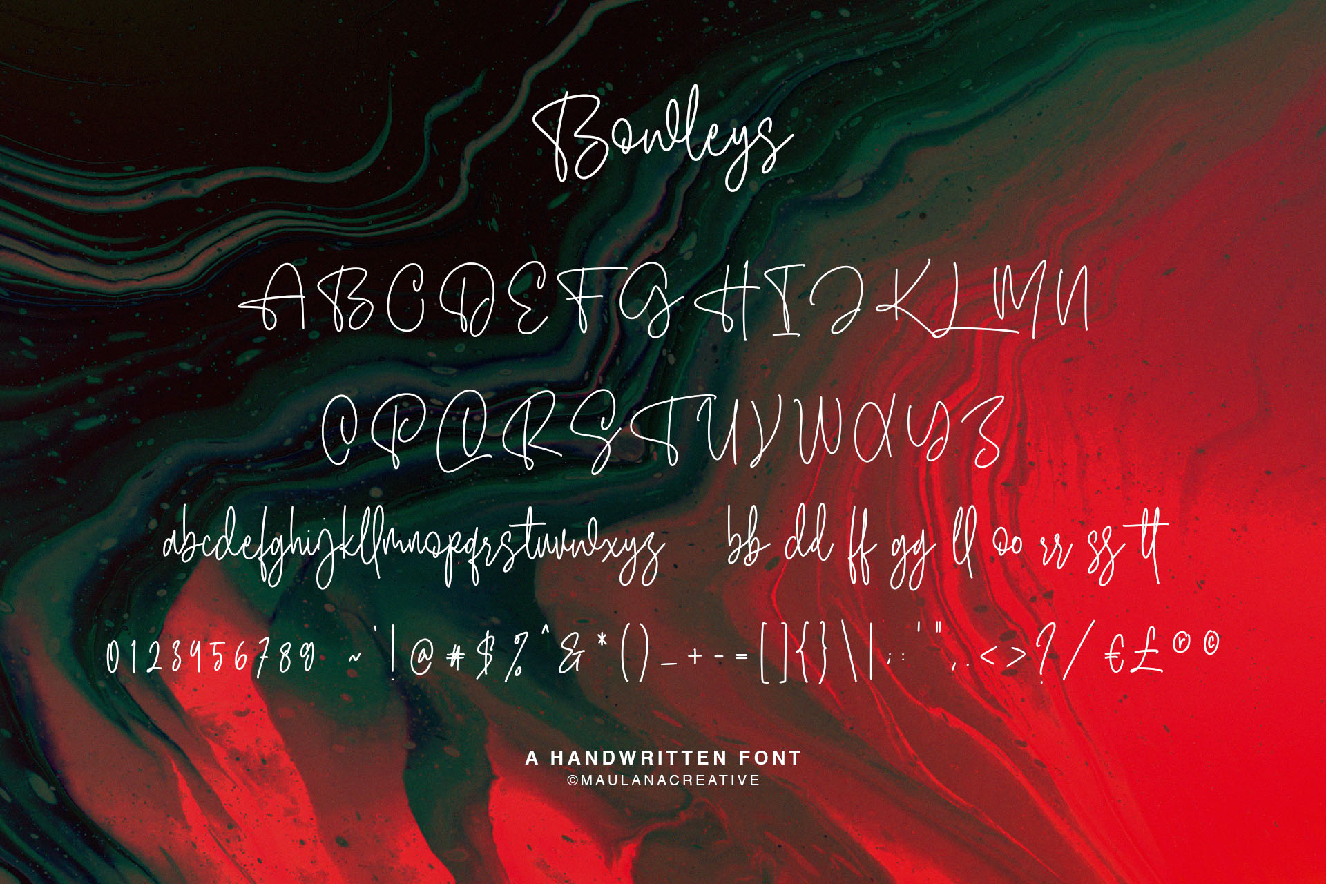 Bowleys Typeface example image 10