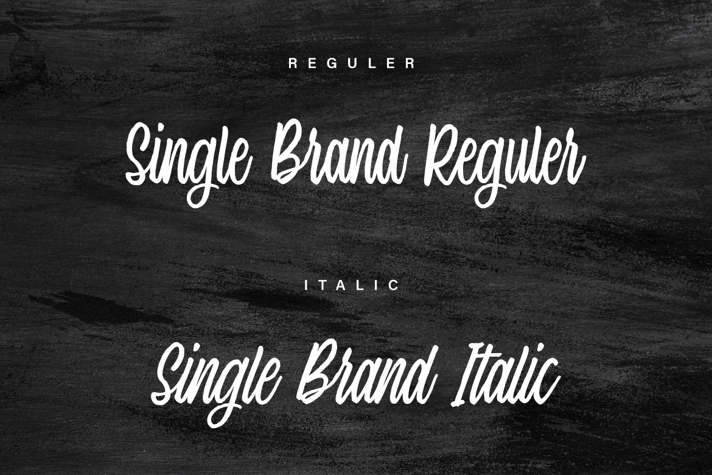 Single Brand example image 6