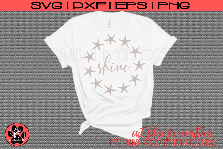 Shine | Star Cut File example image 1