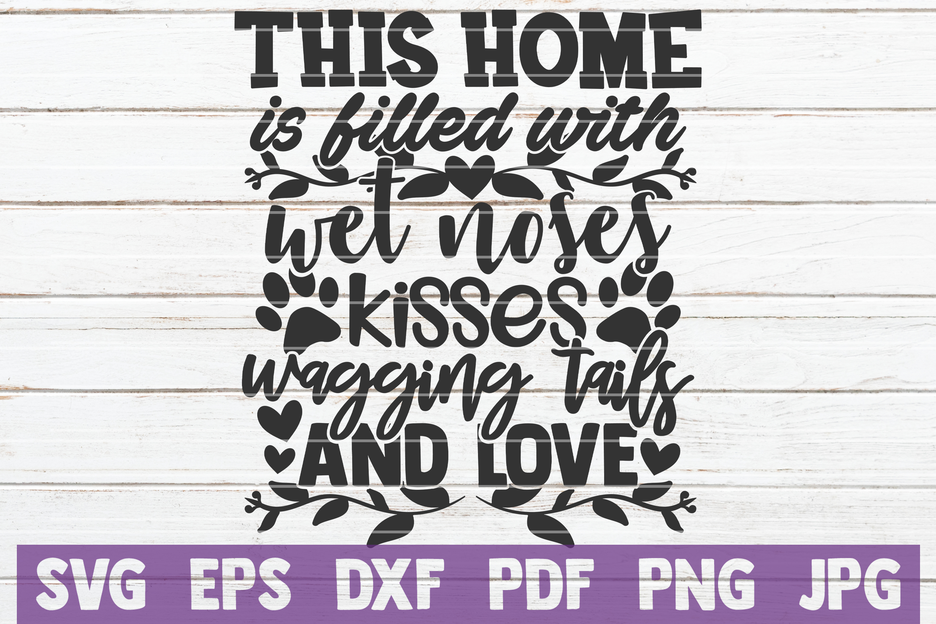 Pet Mom SVG Bundle | SVG Cut Files | Commercial Use example image 27