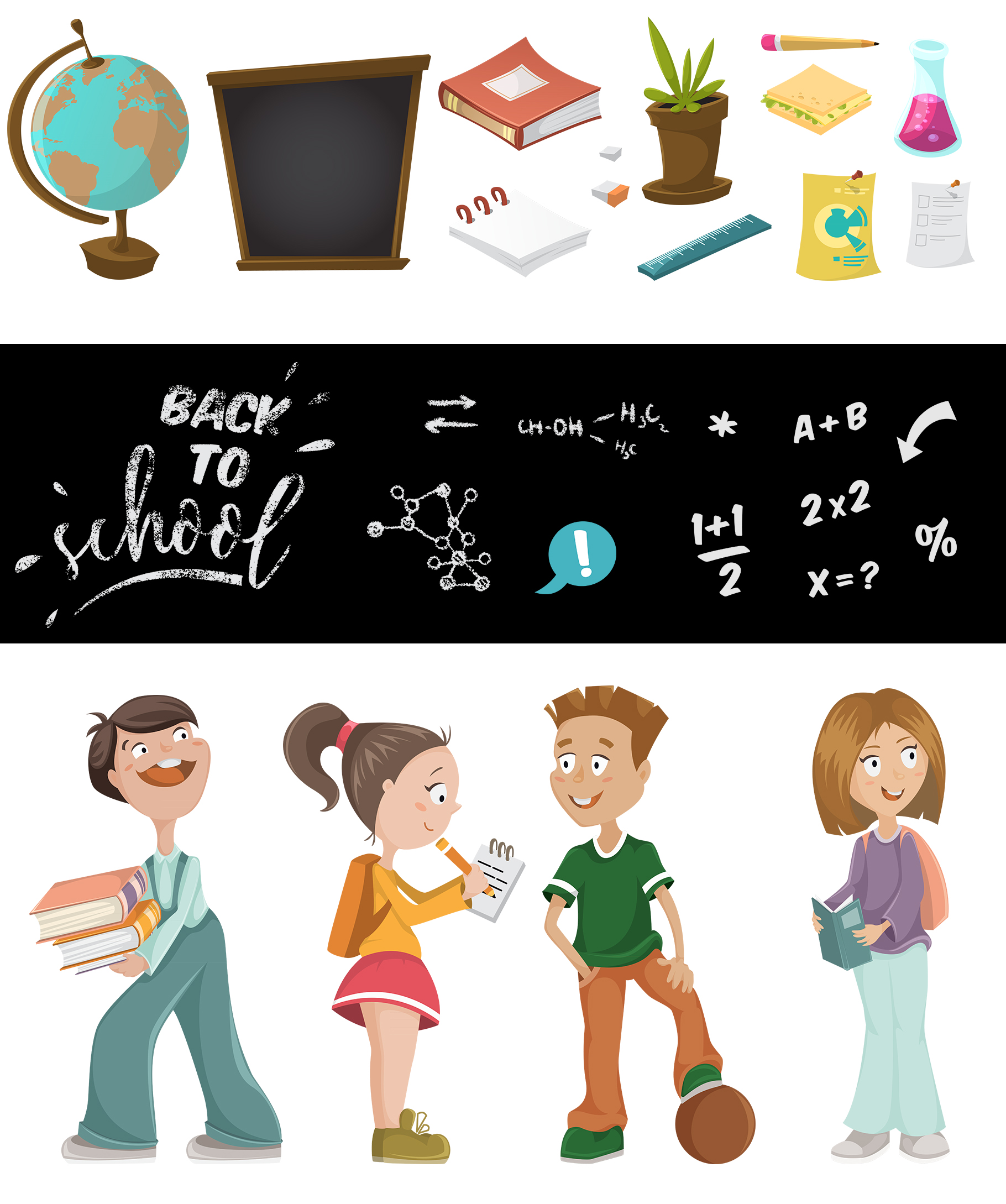 Back to school collection example image 3