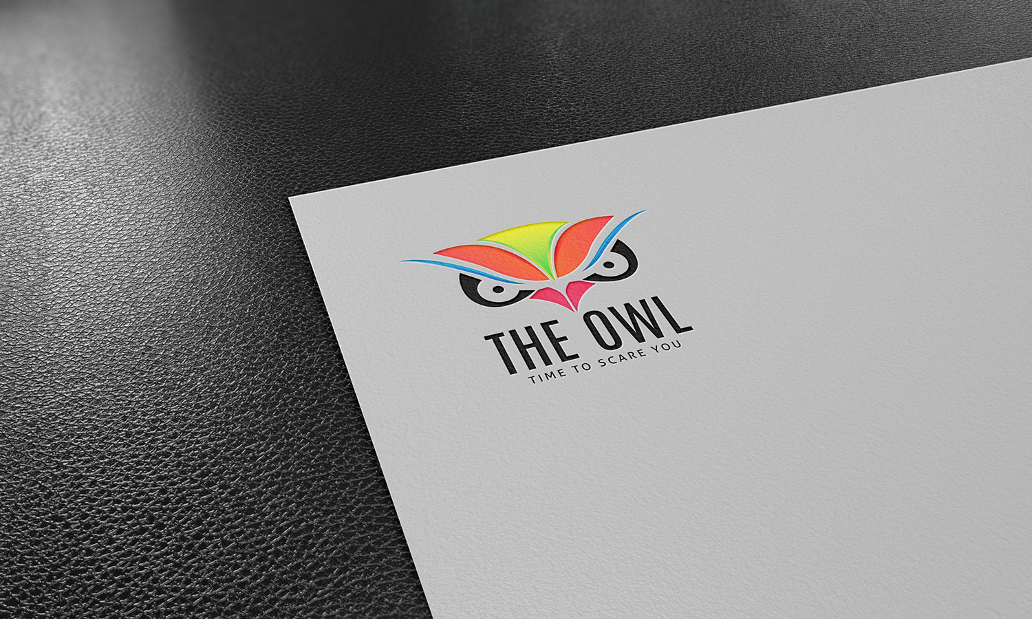 Owl Face Logo Template example image 4