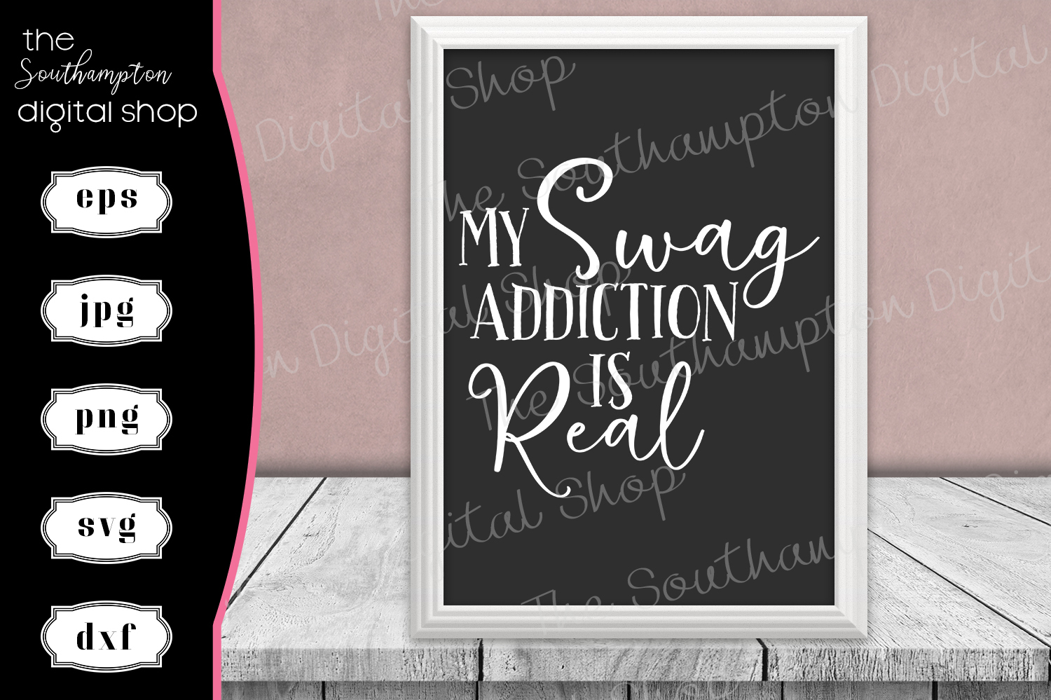 My Swag Addiction is Real example image 1
