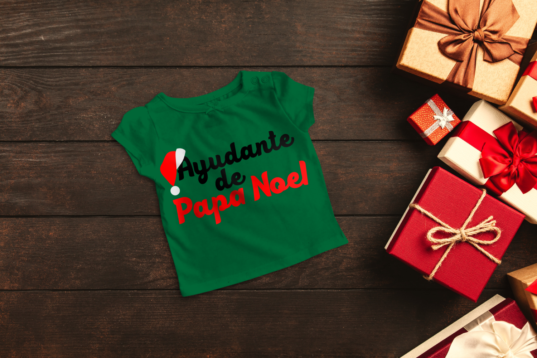 Ayudante de Papa Noel Santa's Helper SVG File example image 1