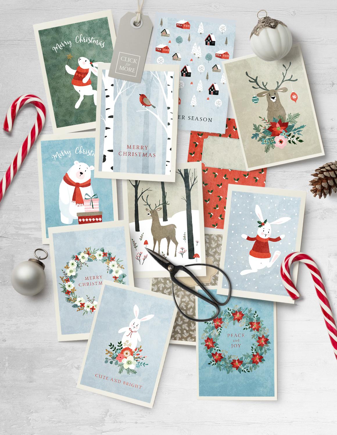 Merry Christmas set, 166 elements example image 9