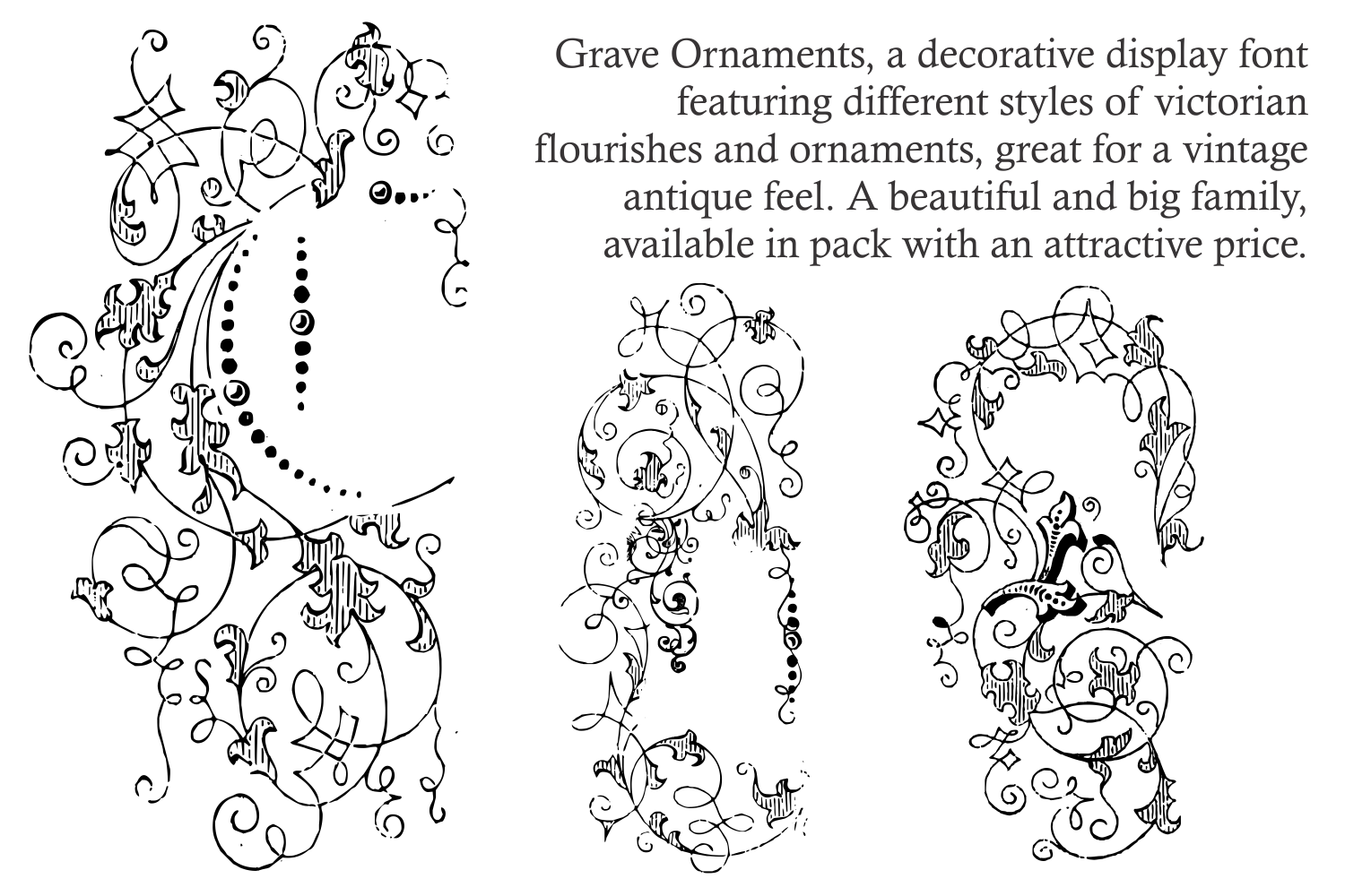 Grave Ornaments (pack) example image 2