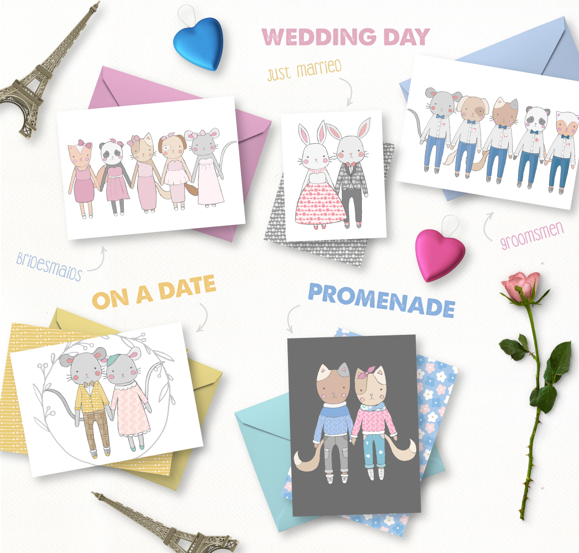 Love Story Collection example image 3