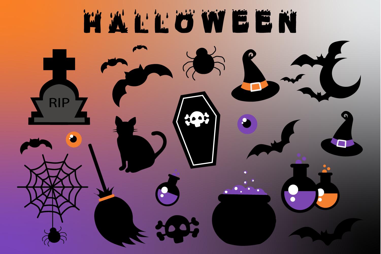 Scary Halloween Bundle example image 2