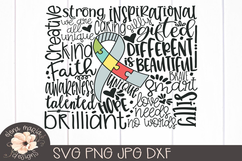 Autism Svg | Awareness Svg Jpg Png Cricut Cut Files example image 2