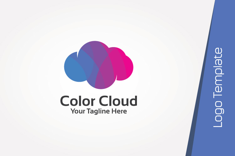 Colorful Cloud Logo Template example image 3
