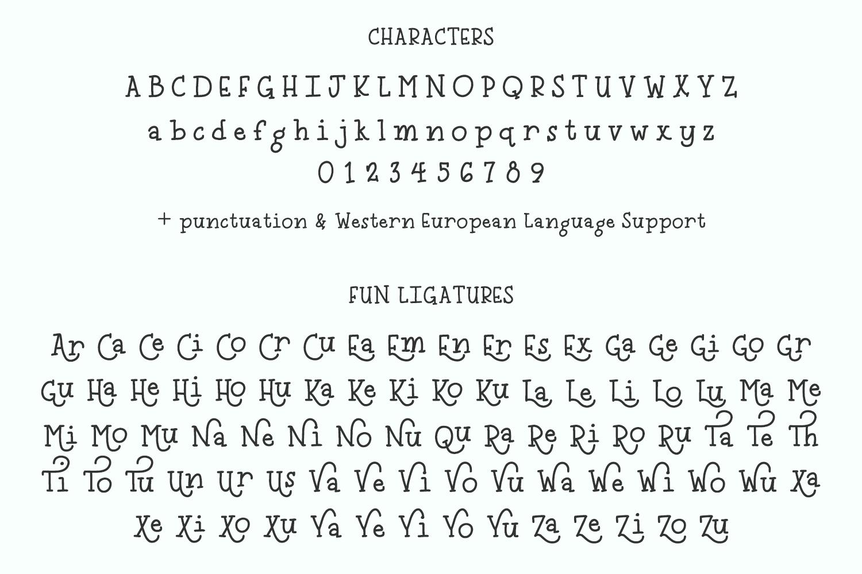 River Road Typewriter Serif example image 10