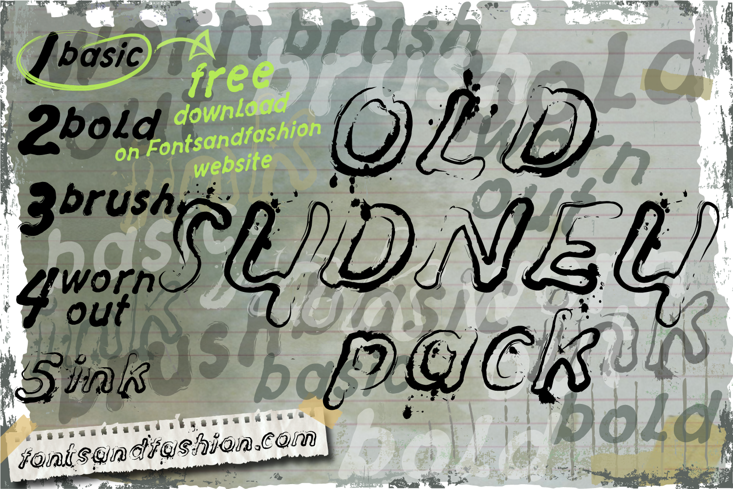 Old Sydney_Pack example image 2
