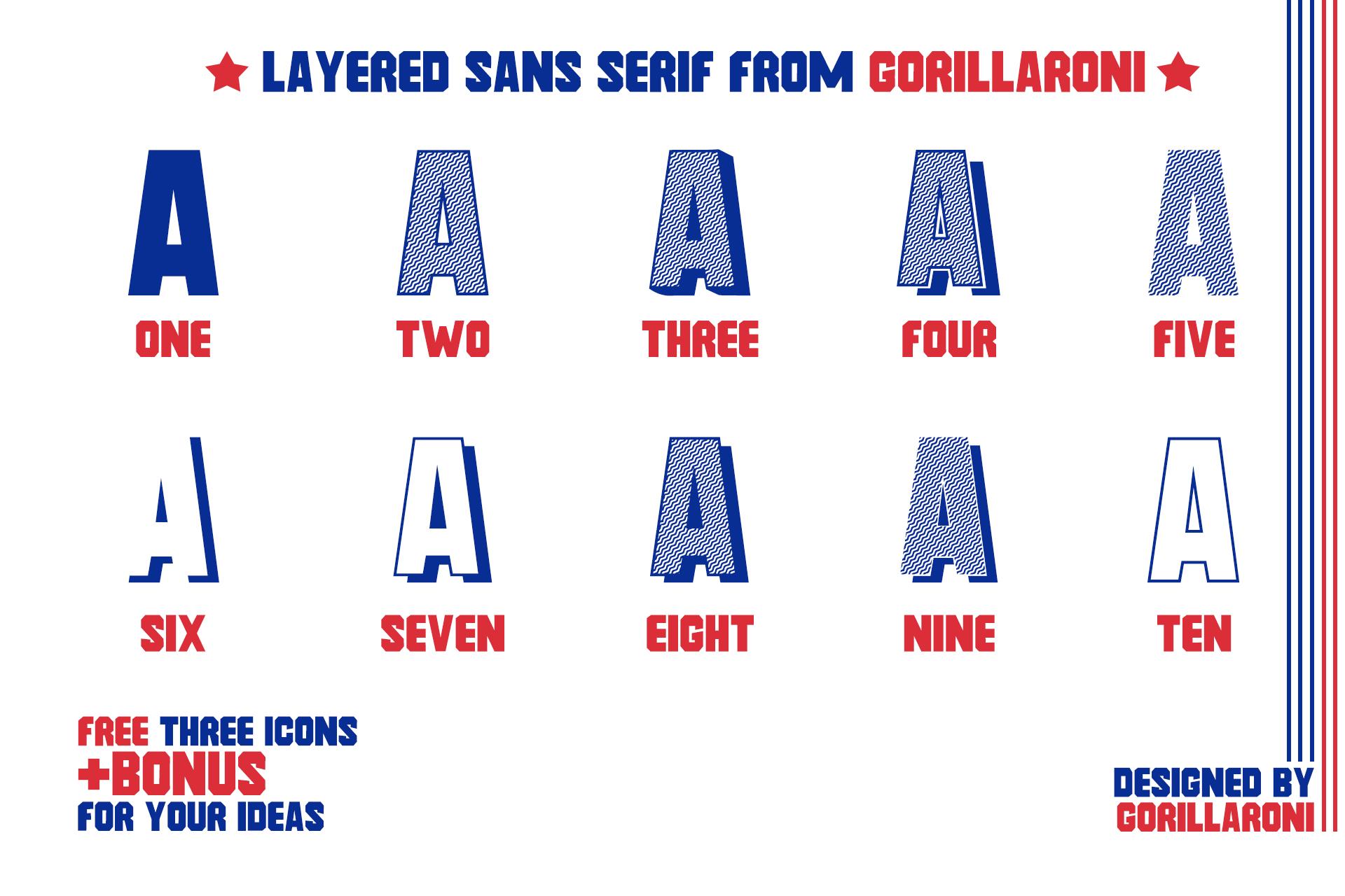 FRAT FONT - MODERN UPPERCASE SANS SERIF by Gorillaroni example image 3