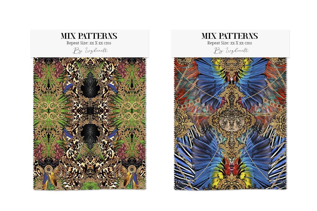 Mix Petterns Luxury example image 4