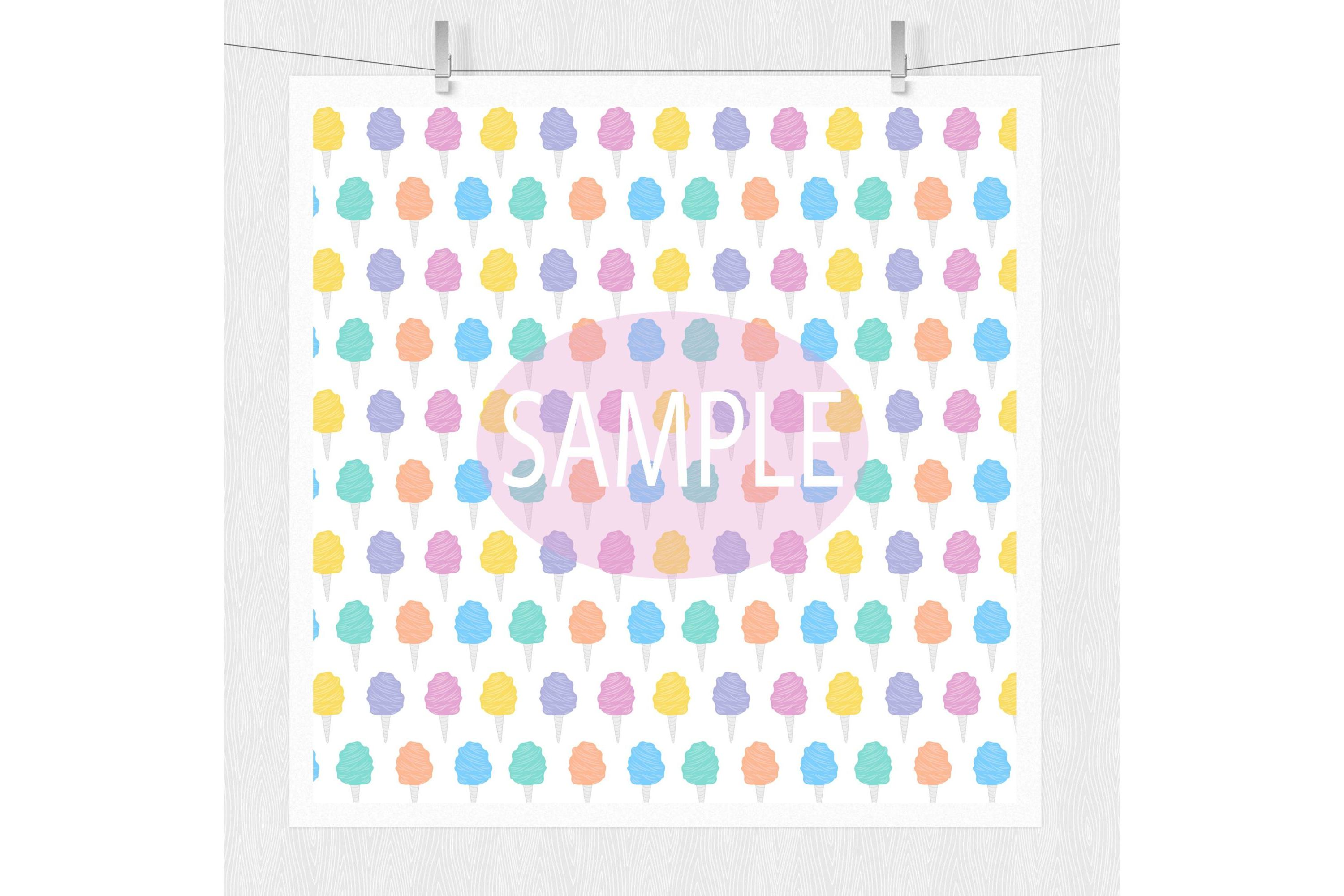 Candy Pattern Backgrounds example image 2
