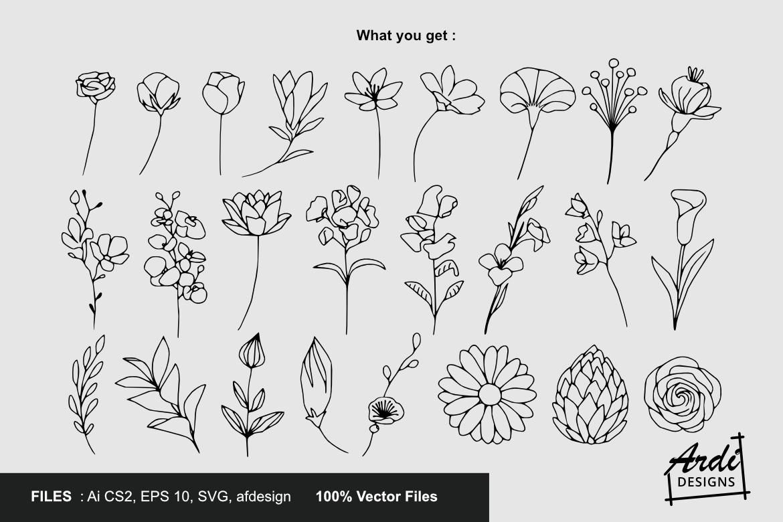 Flower Illustration example image 2