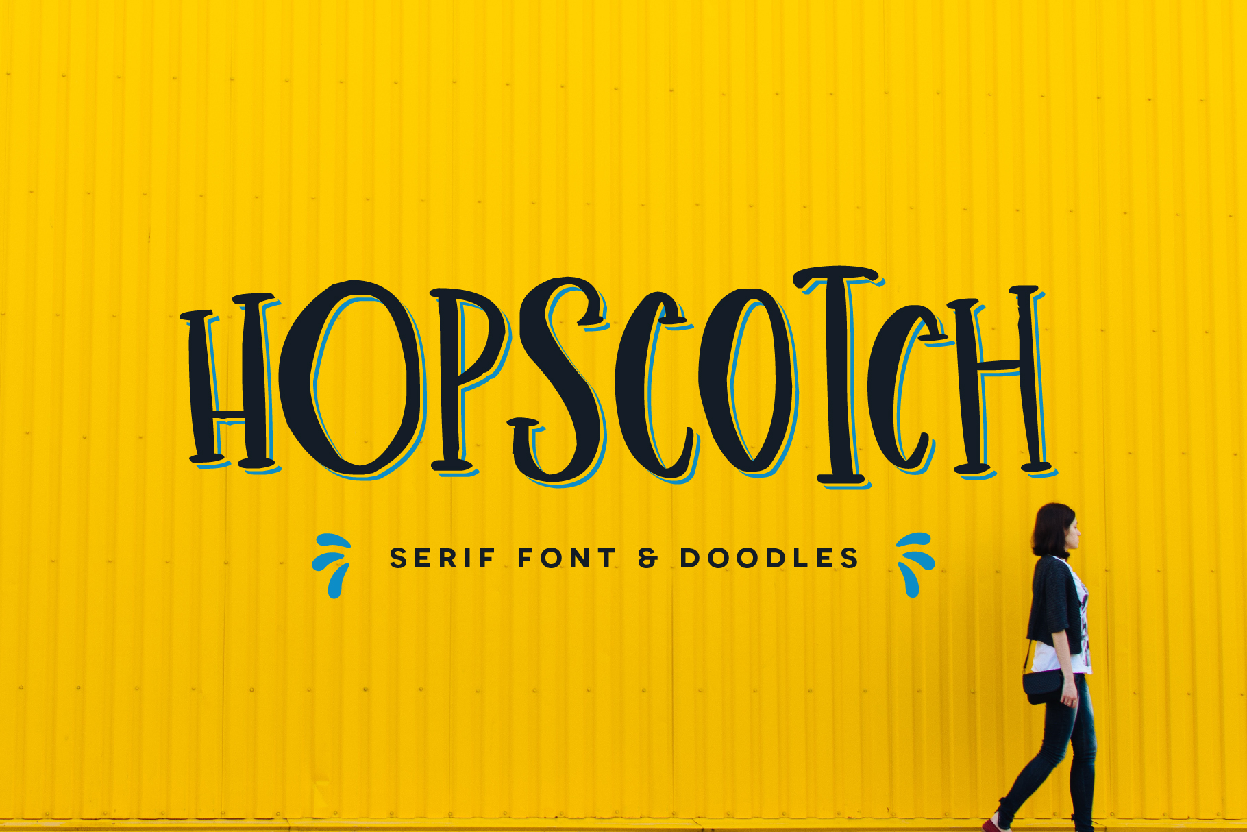 Hopscotch Font example image 1