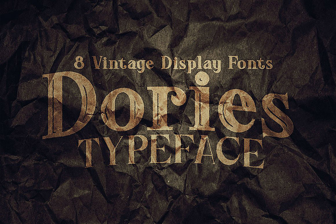 Dories - Display Font example image 7