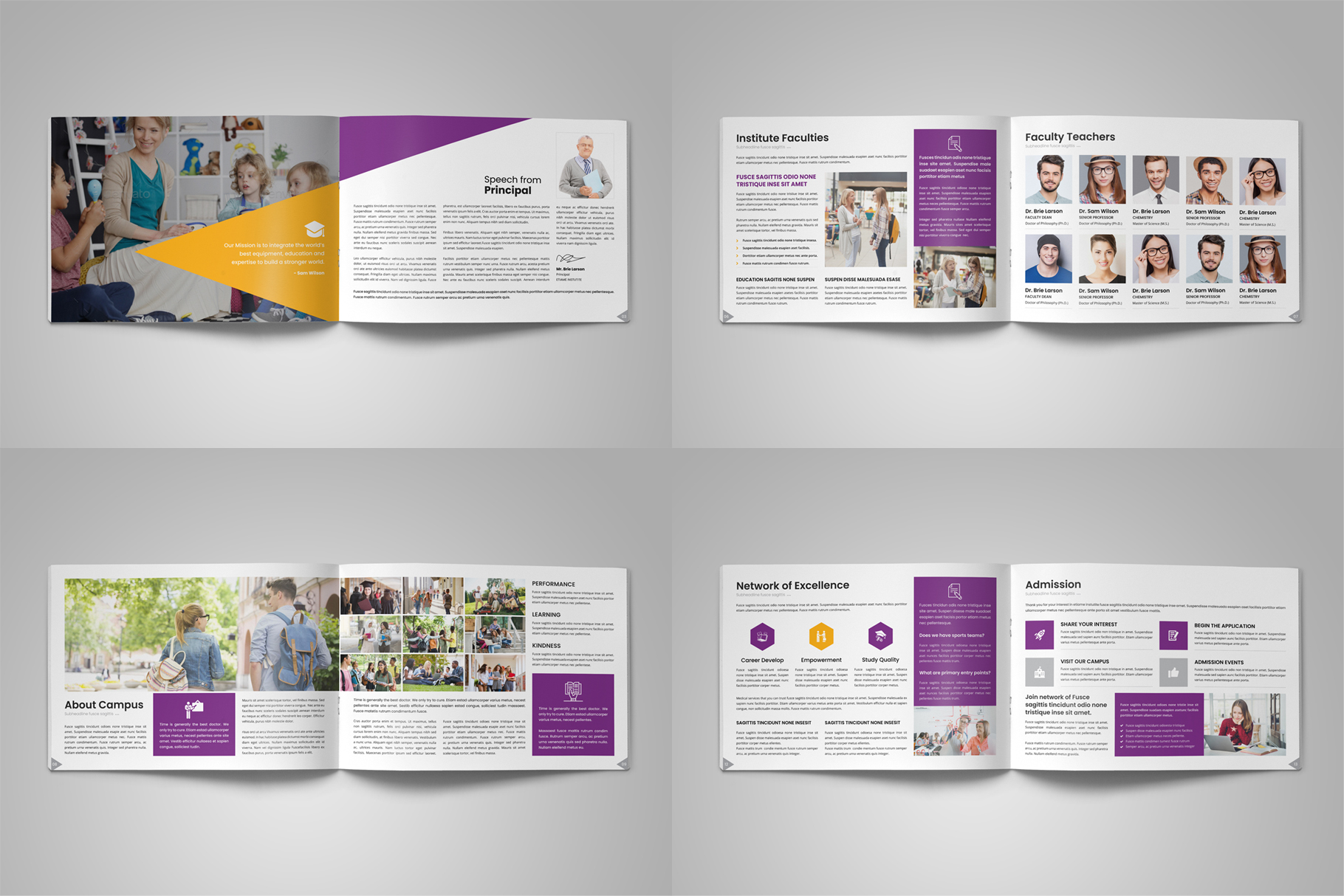 Education Prospectus Brochure v12 example image 16