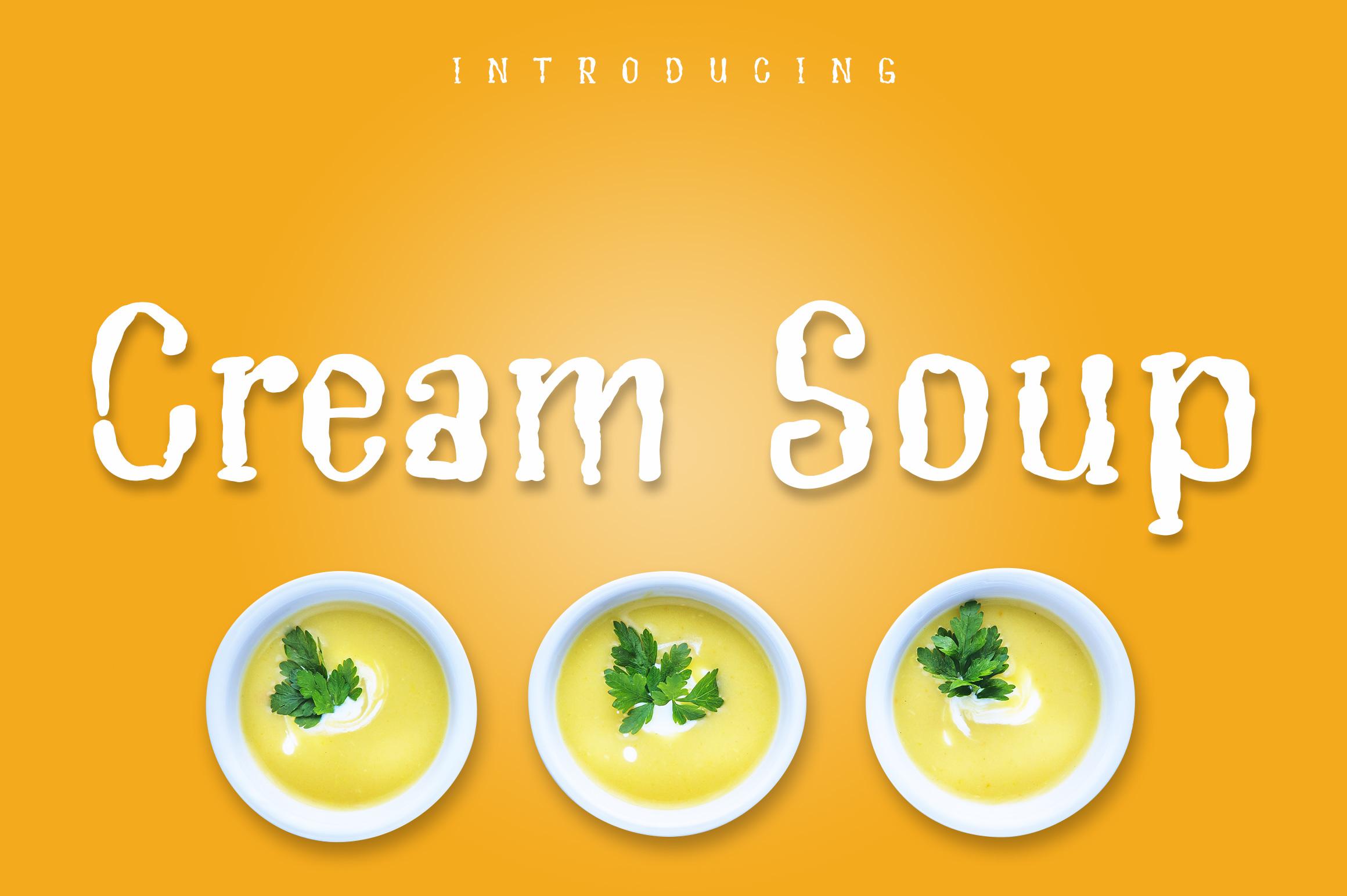 Cream Soup example image 1