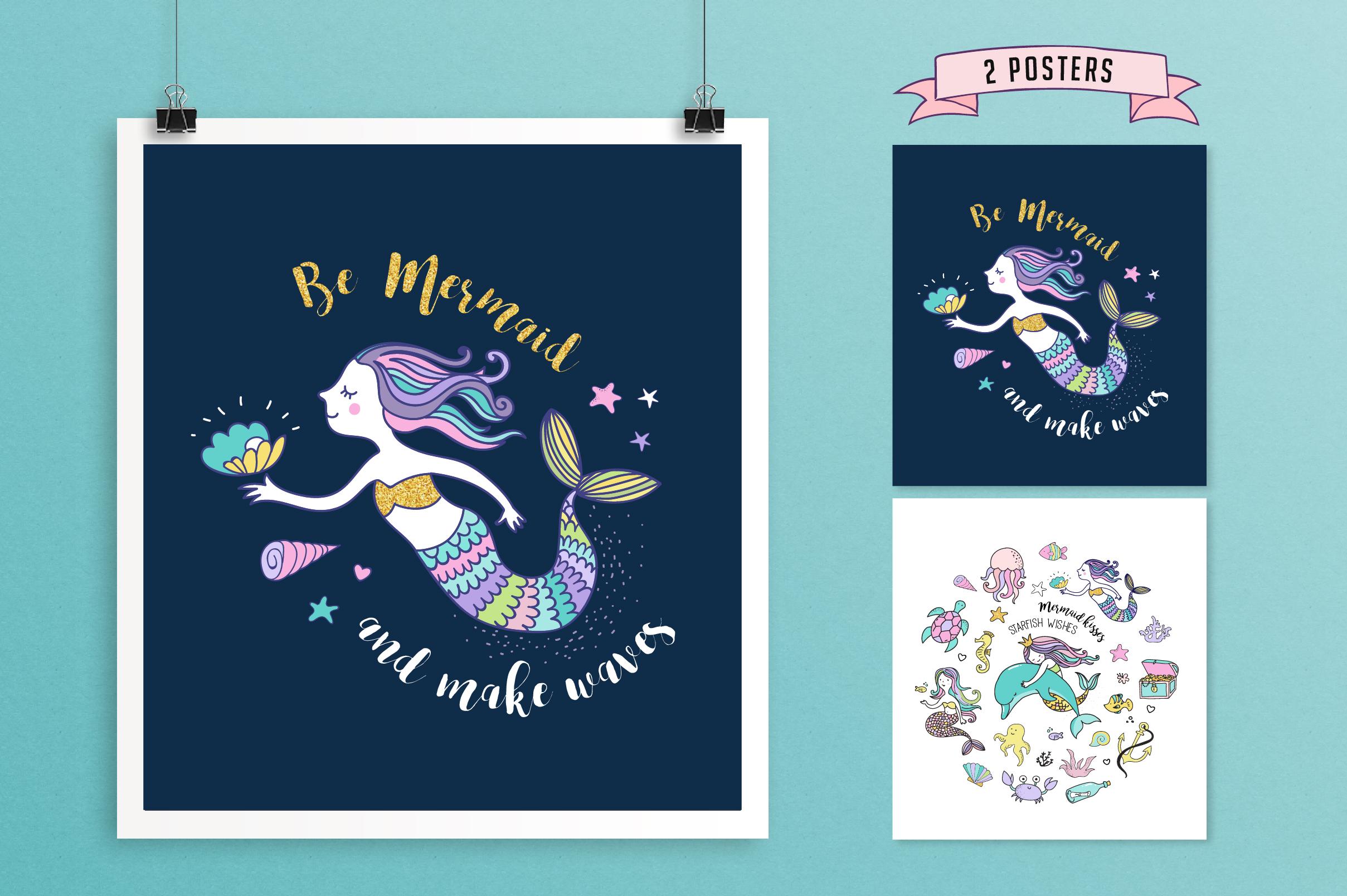 Little Mermaid - under the sea set example image 3