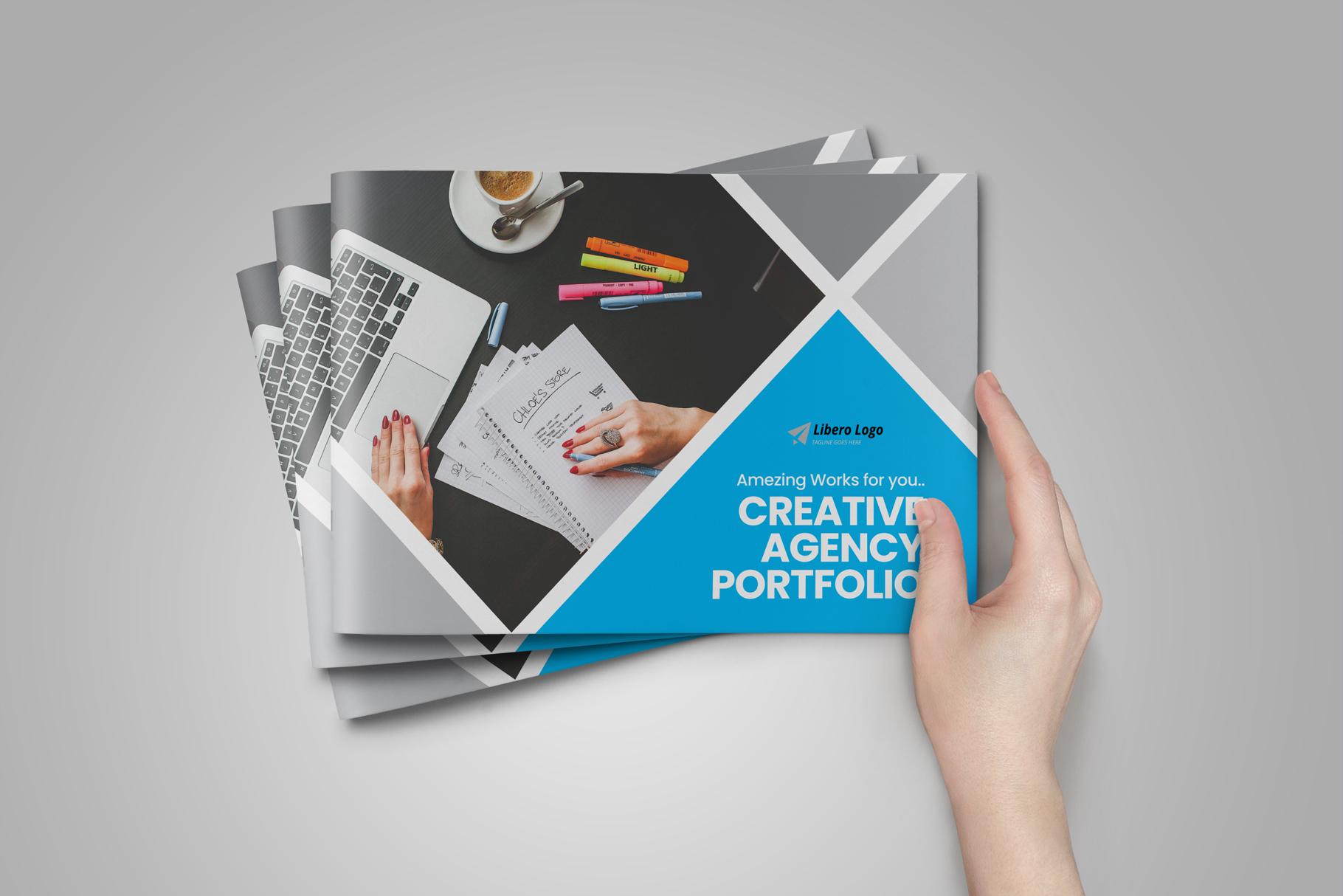 Digital Agency Portfolio Brochure v2 example image 10