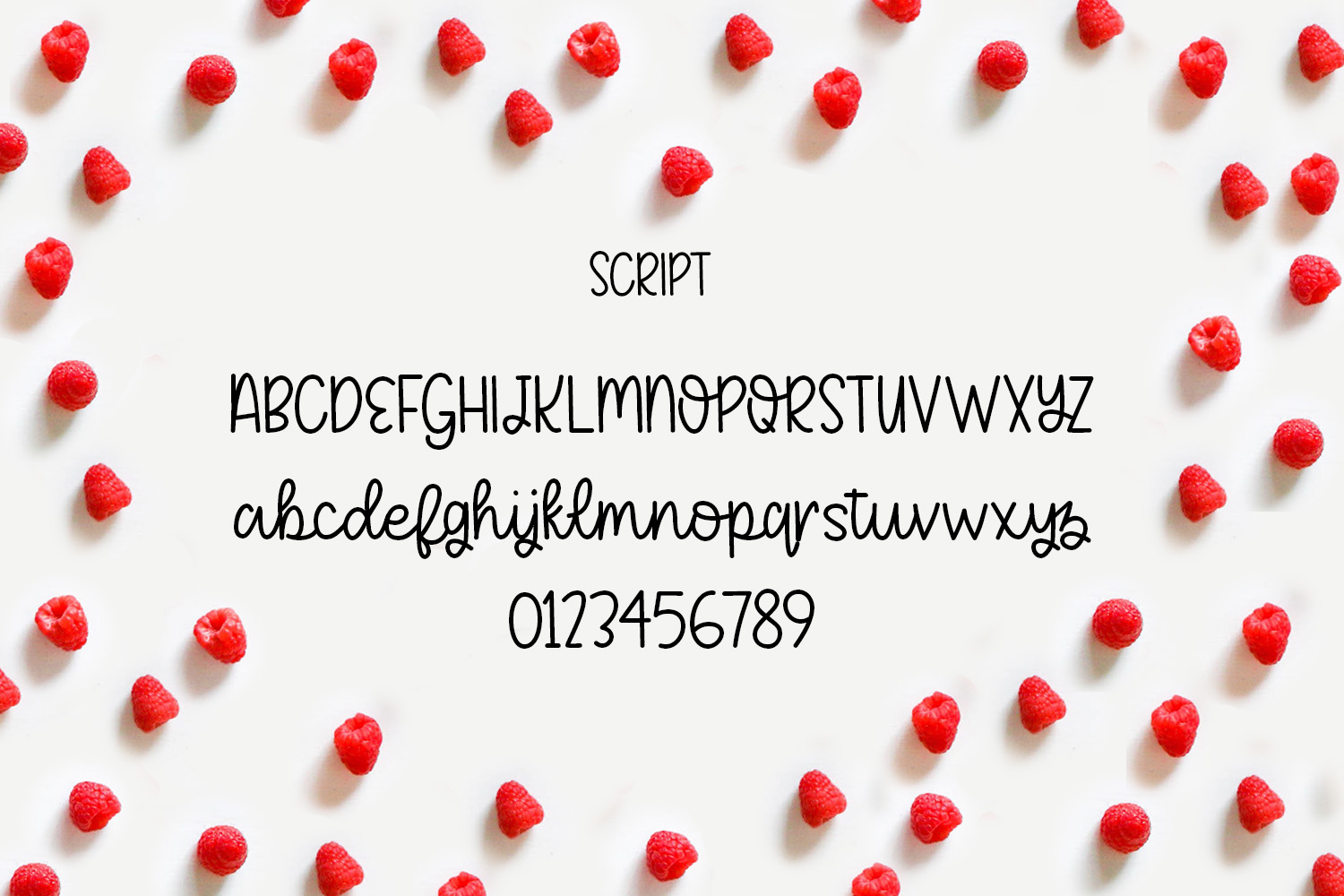 Fruity Patootie Font Duo example image 3